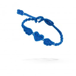 Cruciani Armband Angel Heart marineblau