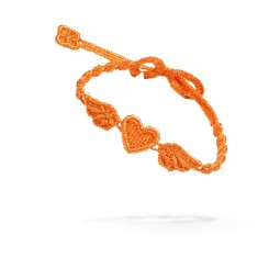Cruciani Armband Angel Heart orange