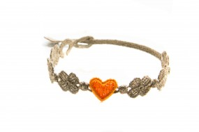 Cruciani Armband You Star braunorange