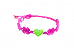 Cruciani Armband You Star pink grün