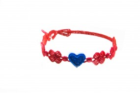 Cruciani Armband You Star rot blau